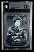 Bill Elliott Signed 2016 Panini Prizm #97 (BGS Encapsulated) at PristineAuction.com