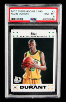 Kevin Durant 2007-08 Topps #112 RC (PSA 8) at PristineAuction.com