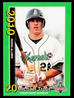 Mike Trout 2010 Cedar Rapids Kernels Rising Alumni Team Issue #3 at PristineAuction.com