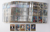 Complete Set of (504) 1998 Topps Baseball Cards & (8) Insert Cards with #317 Barry Bonds, #320 Cal Ripkin at PristineAuction.com
