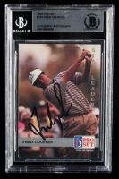 Fred Couples Signed 1992 Pro Set #184 SL (BGS Encapsulated) at PristineAuction.com