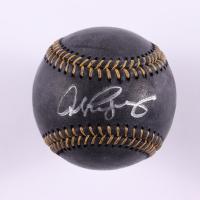 Alex Rodriguez Signed OML Black Leather Baseball (Beckett COA) at PristineAuction.com