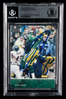 Donald Driver Signed 2003 Upper Deck #22 (BGS Encapsulated) at PristineAuction.com