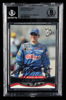 Kyle Busch Signed 2007 Press Pass #4 (BGS Encapsulated) at PristineAuction.com