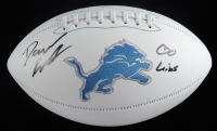 "D'Andre Swift Signed Lions Logo Football Inscribed ""Go Lions"" (JSA COA) at PristineAuction.com"
