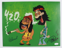 Cheech Marin & Tommy Chong Signed 11x14 Photo (JSA COA) at PristineAuction.com