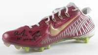 "Deondre Francois Signed Game-Used Nike Football Cleat Inscribed ""16' Game Used"" (JSA COA) at PristineAuction.com"