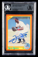 Frank Thomas Signed 1990 Score Rookie / Traded #86T (BGS Encapsulated) at PristineAuction.com