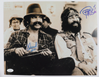 "Cheech Marin & Tommy Chong Signed 11x14 Photo Inscribed ""2021"" (JSA COA) at PristineAuction.com"