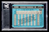 Frank Thomas Signed 1990 Bowman #320 RC (BGS Encapsulated) at PristineAuction.com