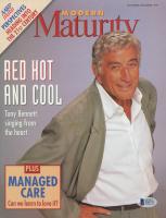 Tony Bennett Signed 1997 Modern Maturity 8x10 Magazine Page (Beckett COA) at PristineAuction.com