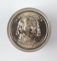 Roll of (12) Uncirculated James Madison Presidential Dollars at PristineAuction.com