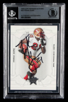 Frank Gore Signed 2008 Leaf Rookies and Stars #83 (BGS Encapsulated) at PristineAuction.com