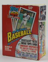 1991 Topps Baseball Wax Box with (36) Packs at PristineAuction.com