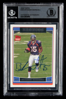 Brandon Marshall Signed 2006 Topps #385 RC (BGS Encapsulated) at PristineAuction.com