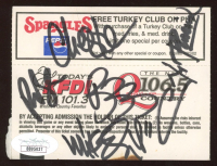 "2002 Projekt Revolution ""Linkin Park"" Ticket Stub Band-Signed by (6) with Chester Bennington, Mike Shinoda, Bob Bourdon, Joe Hahn (JSA LOA) at PristineAuction.com"