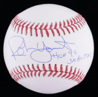 "Robin Yount Signed OML Baseball Inscribed ""HOF '99"" & ""3x Al Star"" (JSA COA) at PristineAuction.com"