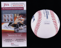 "Robin Yount Signed OML Baseball Inscribed ""HOF '99"" & ""3x Al Star"" (JSA COA) at PristineAuction.com"