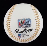 "Pete Rose Signed OML Gold Glove Award Logo Baseball Inscribed ""2x 66"" (Beckett COA & Fiterman Hologram) at PristineAuction.com"
