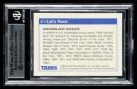 Richard Petty Signed 1991 Traks Richard Petty #4 (BGS Encapsulated) at PristineAuction.com