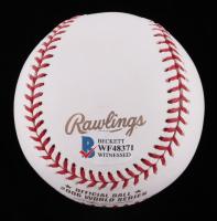 Albert Pujols Signed 2006 World Series Logo Baseball (Beckett COA) at PristineAuction.com