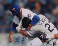 Nolan Ryan Signed Rangers 11x14 Photo (AIV COA & Ryan Hologram) at PristineAuction.com