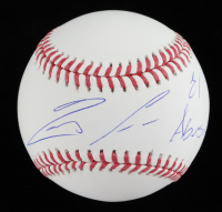 "Ronald Acuna Jr. Signed OML Baseball Inscribed ""El Abusador"" (JSA Hologram) at PristineAuction.com"