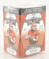 2021 Leaf Draft Football Blaster Box with (50) Cards at PristineAuction.com