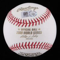 Alex Rodriguez Signed 2009 World Series Baseball (MLB Hologram) at PristineAuction.com