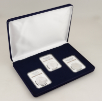 United States Mintmasters Silver Proof Set with (3) Graded Coins at PristineAuction.com