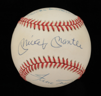 Mickey Mantle, Willie Mays & Duke Snider Signed ONL Baseball (JSA LOA) at PristineAuction.com