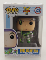 "Tim Allen Signed ""Toy Story 4"" #523 Buzz Lightyear Funko Pop! Vinyl Figure (JSA Hologram) (See Description) at PristineAuction.com"