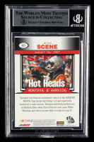 Kevin Harvick Signed 2008 Press Pass #80 NS (BGS Encapsulated) at PristineAuction.com