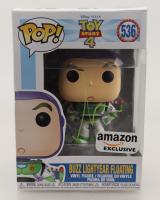 "Tim Allen Signed ""Toy Story 4"" #536 Buzz Lightyear Floating Funko Pop! Vinyl Figure (JSA COA) (See Description) at PristineAuction.com"