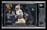 Golden Tate Signed 2010 Press Pass #75 CL (BGS Encapsulated) at PristineAuction.com