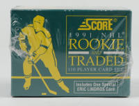 1991-92 Score Rookie & Traded Hockey Complete Set at PristineAuction.com
