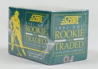 1991-92 Score Rookie & Traded Hockey Complete Set of (110) Cards at PristineAuction.com