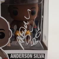Anderson Silva Signed UFC #5 Funko Pop Vinyl Figure (Beckett COA) (See Description) at PristineAuction.com