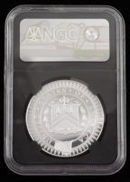 Morgan's First Treasury Medal Smithsonian Collection A. Hamilton 1 Ounce Private Issue Struck 2018 (NGC PF 78 Ultra Cameo) at PristineAuction.com