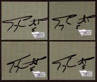 "Terry Labonte Signed 2.5"" x 3"" Metal Cut (Fanatics Hologram) (See Description) at PristineAuction.com"