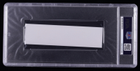 Chuck Yeager Signed 1.5x5.5 Cut (PSA Encapsulated) at PristineAuction.com
