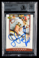 Joe Jacoby Signed 2006 Upper Deck Legends #64 (BGS Encapsulated) at PristineAuction.com