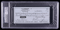 Walt Cunningham Signed 2000 Personal Bank Check (PSA Encapsulated) at PristineAuction.com