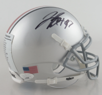 Nick Bosa Signed Ohio State Buckeyes Mini Helmet (JSA COA) at PristineAuction.com