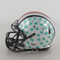 Joey Bosa Signed Ohio State Buckeyes Chrome Speed Mini-Helmet (JSA COA) at PristineAuction.com