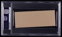 Jimmy Carter Signed 2x5 Cut (PSA Encapsulated) at PristineAuction.com