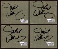 "Michael Waltrip Signed 2.5"" x 3"" Metal Cut (Fanatics Hologram) (See Description) at PristineAuction.com"