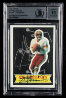 Joe Theismann Signed 1984 Topps Glossy Send-In #12 (BGS Encapsulated) at PristineAuction.com