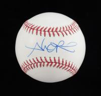 Alex Rios Signed OML Baseball (MLB Hologram) at PristineAuction.com