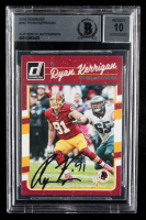 Ryan Kerrigan Signed 2016 Donruss #297 (BGS Encapsulated) at PristineAuction.com